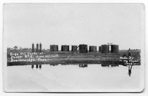 Primary view of object titled 'Oil Tanks'.