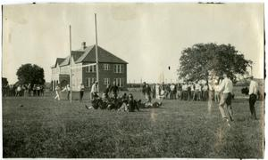 Primary view of object titled '1920's Schreiner Football Game'.