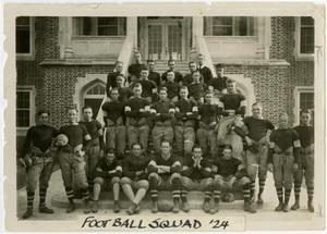 Primary view of object titled 'Schreiner Football Squad, 1924'.