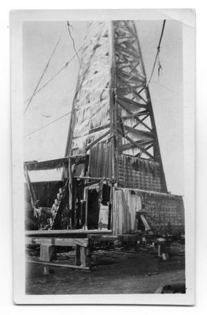 Primary view of object titled 'Icicle Covered Derrick'.