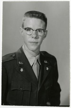 Primary view of object titled 'Portrait of James L. McCall, Recall 1956'.