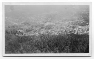 Primary view of object titled 'Aerial View of Town'.
