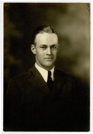 Primary view of object titled 'Portrait of H. B. Reeves, 1933 - 1934'.