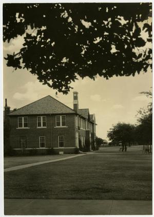 Primary view of object titled 'A.C. Schreiner Building and Dickey Hall'.