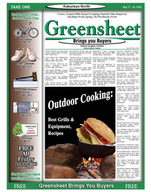Primary view of object titled 'Greensheet (Houston, Tex.), Vol. 37, No. 174, Ed. 1 Wednesday, May 17, 2006'.