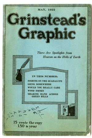 Primary view of object titled 'Grinstead's Graphic, May 1922'.