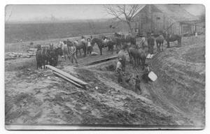 Primary view of object titled 'Workers and Mule Teams'.