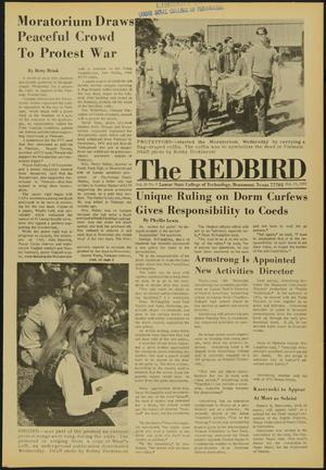 Primary view of object titled 'The Redbird (Beaumont, Tex.), Vol. 20, No. 4, Ed. 1 Friday, October 17, 1969'.