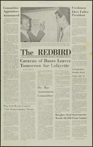 Primary view of object titled 'The Redbird (Beaumont, Tex.), Vol. 17, No. 4, Ed. 1 Friday, October 7, 1966'.