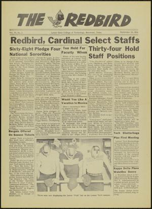 Primary view of object titled 'The Redbird (Beaumont, Tex.), Vol. 6, No. 2, Ed. 1 Friday, September 28, 1956'.