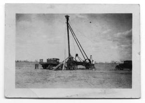 Primary view of object titled 'Seismograph Team Operating Drill'.