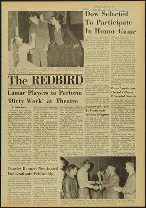 Primary view of object titled 'The Redbird (Beaumont, Tex.), Vol. 19, No. 18, Ed. 1 Friday, February 21, 1969'.