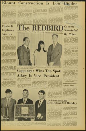 Primary view of object titled 'The Redbird (Beaumont, Tex.), Vol. 18, No. 24, Ed. 1 Friday, March 29, 1968'.