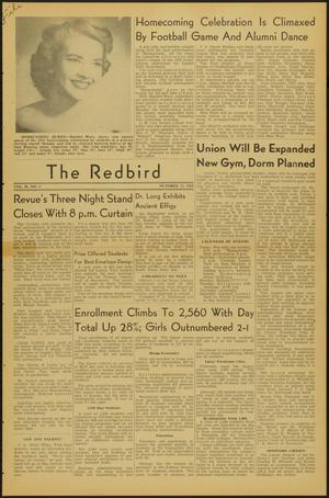 Primary view of object titled 'The Redbird (Beaumont, Tex.), Vol. 2, No. 4, Ed. 1 Friday, October 17, 1952'.