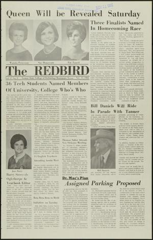 Primary view of object titled 'The Redbird (Beaumont, Tex.), Vol. 17, No. 9, Ed. 1 Friday, November 11, 1966'.