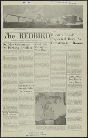 Primary view of object titled 'The Redbird (Beaumont, Tex.), Vol. 16, No. 1, Ed. 1 Friday, September 17, 1965'.
