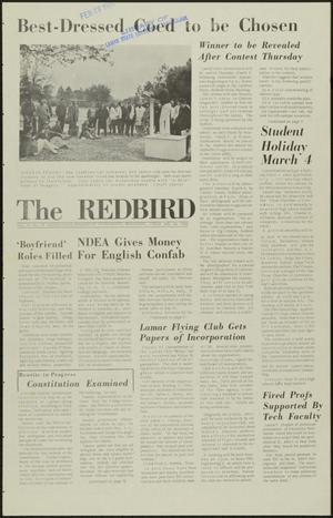 Primary view of object titled 'The Redbird (Beaumont, Tex.), Vol. 16, No. 16, Ed. 1 Friday, February 25, 1966'.