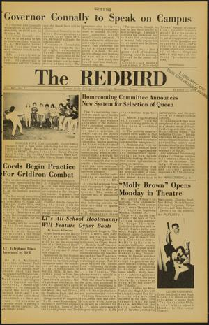 Primary view of object titled 'The Redbird (Beaumont, Tex.), Vol. 14, No. 5, Ed. 1 Friday, October 25, 1963'.