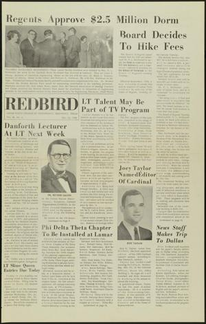 Primary view of object titled 'The Redbird (Beaumont, Tex.), Vol. 16, No. 5, Ed. 1 Friday, October 15, 1965'.