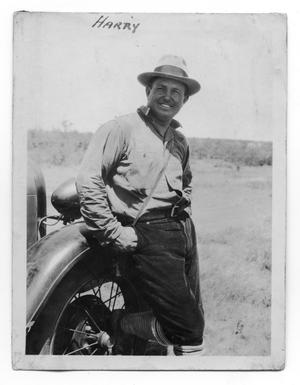 Primary view of object titled 'Harry Goode by Car'.