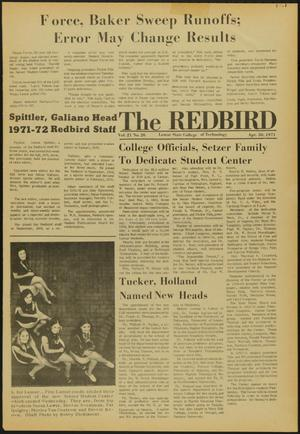 Primary view of object titled 'The Redbird (Beaumont, Tex.), Vol. 21, No. 26, Ed. 1 Friday, April 30, 1971'.