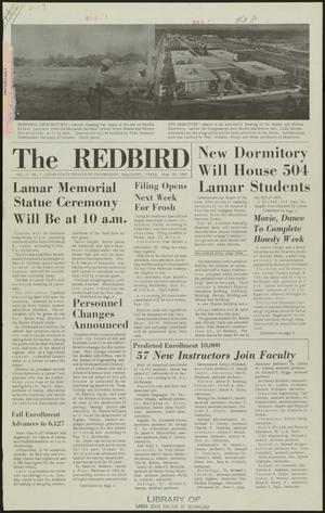Primary view of object titled 'The Redbird (Beaumont, Tex.), Vol. 17, No. 1, Ed. 1 Friday, September 16, 1966'.