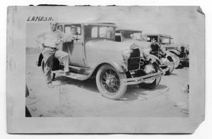 Primary view of object titled 'Men with Cars'.