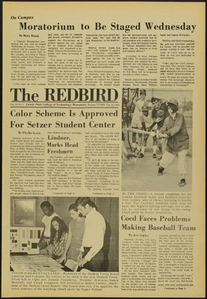 Primary view of object titled 'The Redbird (Beaumont, Tex.), Vol. 20, No. 3, Ed. 1 Friday, October 10, 1969'.