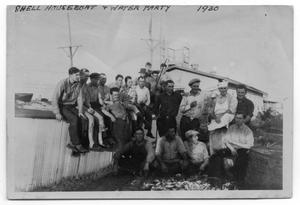 Primary view of object titled 'Group by Houseboat'.