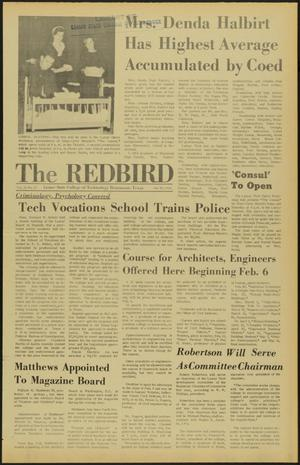 Primary view of object titled 'The Redbird (Beaumont, Tex.), Vol. 18, No. 15, Ed. 1 Friday, January 26, 1968'.
