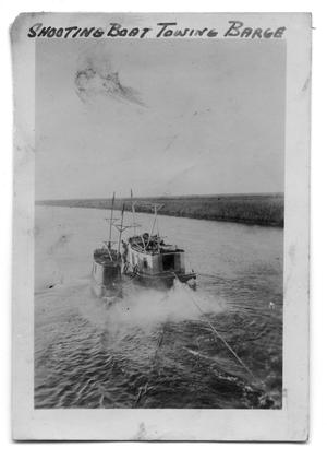 Primary view of object titled 'Boat Towing Another Boat'.