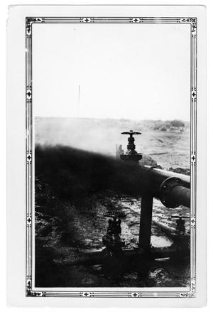 Primary view of object titled 'Oil Flowing from Well'.
