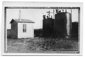 Primary view of object titled 'Electric Treaters and Shed'.