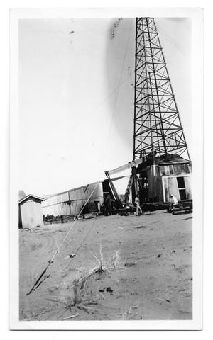 Primary view of object titled 'Oil Well in New Mexico'.