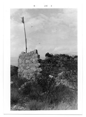 Primary view of object titled 'Crockett County Stage Stop Ruins'.