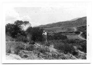 Primary view of object titled 'John Emery Adams on Hillside'.