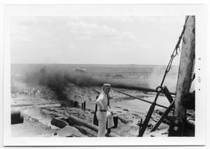 Primary view of object titled 'Abe Hendrickson on Rig'.