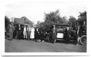 California Company Workers with Cars