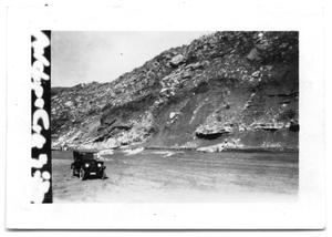 Primary view of object titled 'Car by Cliff'.
