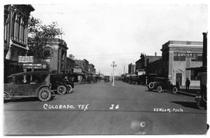 Primary view of object titled 'Colorado City Main Street'.
