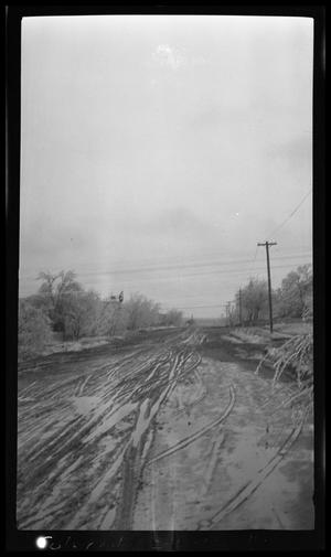 Primary view of object titled 'Muddy Road in Colorado City'.