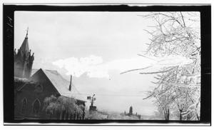 Primary view of object titled 'Church in Winter'.