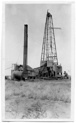 Primary view of object titled 'Oil Derrick and Well'.