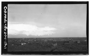 Primary view of object titled 'Aerial View of Colorado City'.