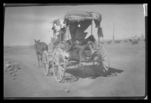 Primary view of object titled 'Wagon in Desert'.