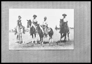 Primary view of object titled 'Boys on Horses'.