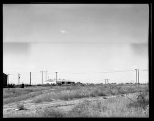 Primary view of object titled 'Empty Lot and Shed'.