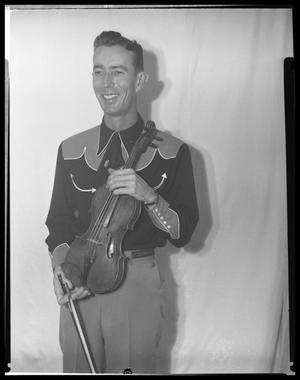 Primary view of object titled 'Man with Violin'.