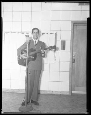 Primary view of object titled 'Man with Guitar'.
