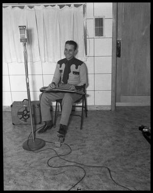 Primary view of object titled 'Man with Steel Guitar'.